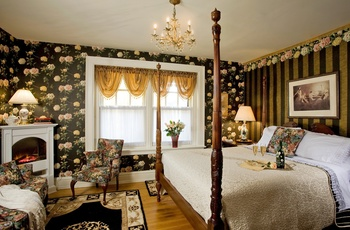 King´s Cottage Bed & Breakfast - Duchess værelse, Pennsylvania i USA