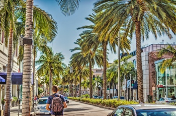 Rodeo Drive, Los Angeles i USA