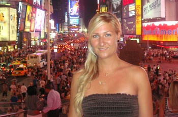 Maria i New York - rejsespecialist i Lyngby