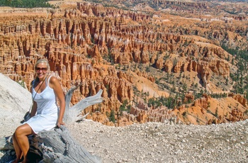 Mette i Bryce Canyon i USA - rejsespecialist i Aalborg