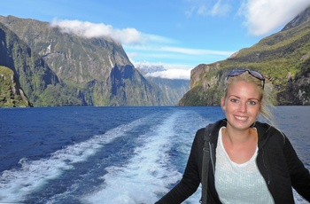 Michelle, Milford Sound - rejsespecialist i Aarhus