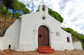 Calvario Shrine, Mijas i Andalusien
