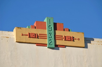 Art Deco i Napier