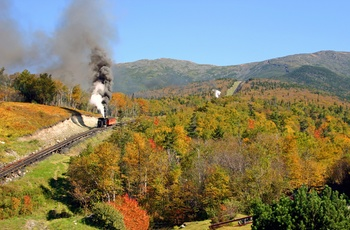 COG Railway til toppen af Mount Washington