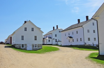 Canterbury Shaker Village – New Hampshire i USA