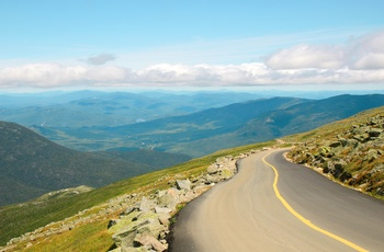 Mount Washington Auto Road i New Hampshire, USA
