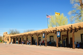 Palace of Governors i Santa Fe, New Mexico i USA