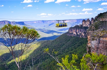 Skyrail Rainforest Cableway i Blue Mountains nær Sydney