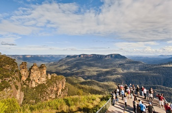 Three Sisters i Blue Mountains nær Sydney