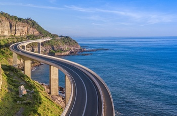 Broen Sea Cliff Bridge, New South Wales