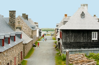 Fortress Louisbourg - Fort i Nova Scotia, Canada