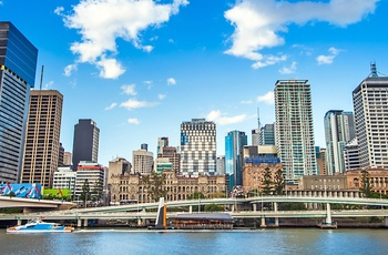 Brisbane skyline, Queensland