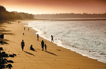 "Strand ved Hervey Bay, Queensland i Australien - ""Copyright – Tourism and Events Queensland"""