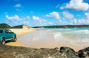Rainbow Beach i Queensland, Australien