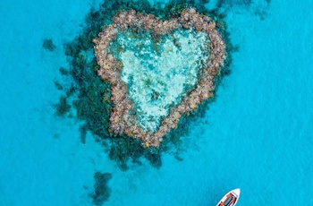 Whitsunday Island - Heart Reff, Australien - copyright Jason Hill and Tourism & Events Queensland