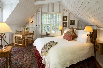 Simpson House Inn - Hayloft værelse, Californien i USA