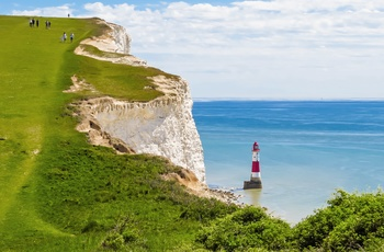 Beachy Head - kyststrækning i Sussex, England