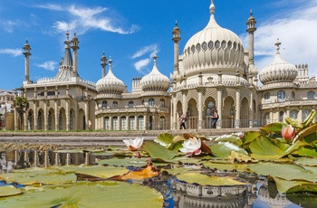 Brighton Pavillion eller Royal Pavillion i Sussex, England