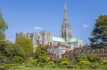 Chichester katedral,Sussex i England