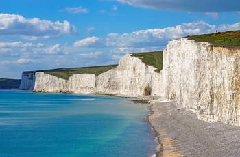 Seven Sisters - klippekyst i Sussex, England