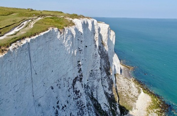 White Cliffs of Dover i Sussex, England