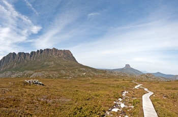 Cradle Mountain i St Clair National Park, vandring - Tasmanien