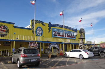 The Big Texan Steak Ranch i Amarillo, Texas i USA