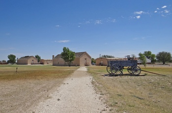 Historic Fort Stockton, Texas i USA