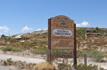 Terlingua Ghost Town i Texas