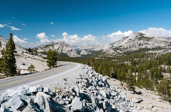 USA Californien Yosemite Nationalpark Tioga Pass
