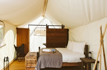 Glamping i Grand Canyon - Deluxe Telt, USA