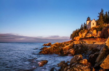 USA Maine Acadia National park Bass Harbor