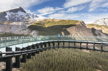 Rocky Mountaineer, Glacier Skywalk, Canada