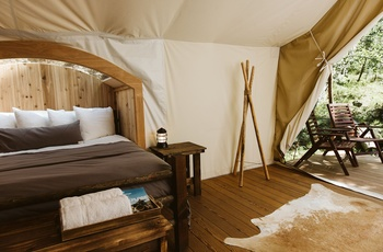 Glamping i Great Smoky Mountains, Stargazer telt
