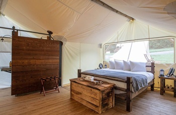 Glamping i Great Smoky Mountains, Suite telt
