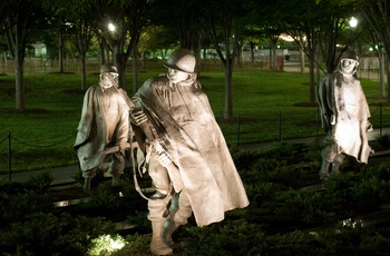 USA Washington DC Korean War Memorial