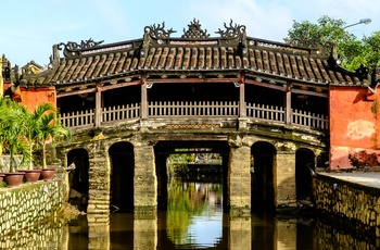 Japanese Bridge i Hoi An, Vietnam