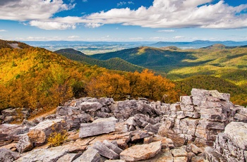 Shenandoah National Park i Virginia, USA