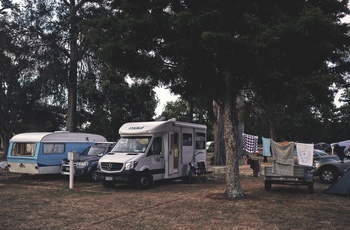 Camping i motorhome i New Zealand