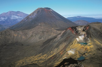 Tongariro nationalpark i New Zealand