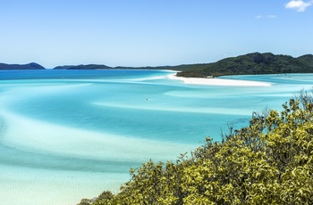 Whitsunday Islands i Queensland, Australien
