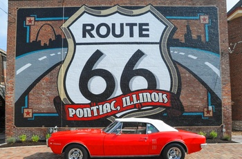 Route 66 illustration