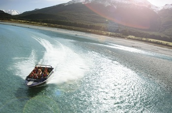 Queenstown - Jet boat og Funyak Safari