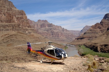 Helikoptertur i Grand Canyon