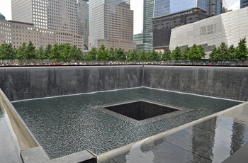 Ground Zero / 9/11 Memorial i New York City