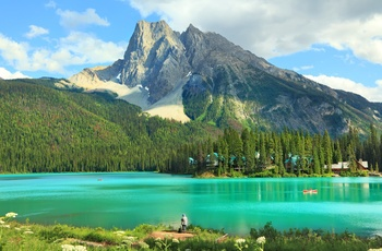Yoho National Park, British Columbia i Canada