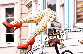 Haight Ashbury i San Francisco