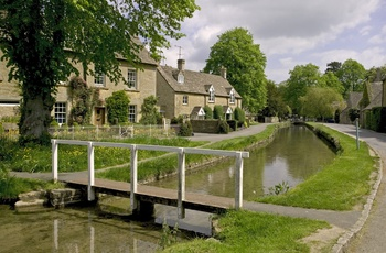 Lower Slaughter, River Eye, Cotswolds, UK