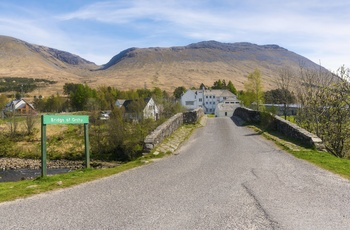 The Bridge of Orchy nær Glencoe Skotland